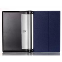 Кожаный чехол подставка для Lenovo Yoga Tablet 2 8 Синий