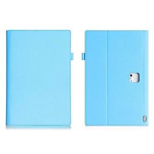 Чехол подставка с рамочной защитой и внутренними отсеками для Lenovo Yoga Tablet 2 Pro 13 Голубой