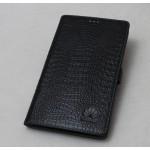 Кожаный чехол подставка (нат. кожа крокодила) для MediaPad X1 7.0