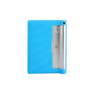 Силиконовый матовый текстурный чехол для Lenovo Yoga Tablet 2 10 Голубой