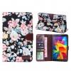 Текстурный чехол подставка с внутренними отсеками для Samsung GALAXY Tab 4 8.0