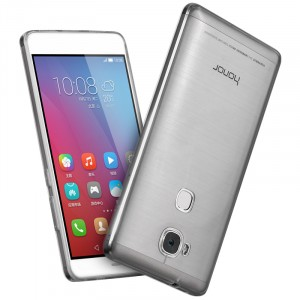 Силиконовый ультратонкий полупрозрачный чехол повышенной защиты для Huawei Honor 5X