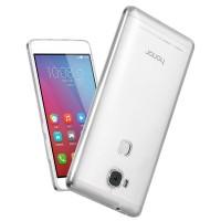 Силиконовый ультратонкий полупрозрачный чехол повышенной защиты для Huawei Honor 5X Белый