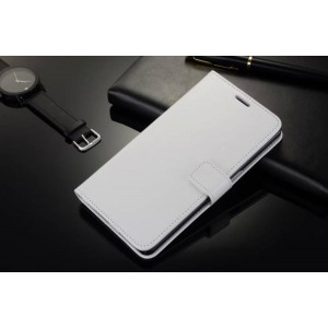 Глянцевый чехол портмоне подставка с застежкой вперед для Lenovo P780 Белый