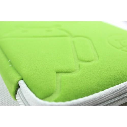 Фланелевый чехол папка с бархатным покрытием на молнии для планшетов с диагональю 10 дюймов