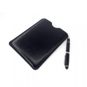 Кожаный мешок (иск. кожа) для планшетов с диагональю 8 дюймов Черный