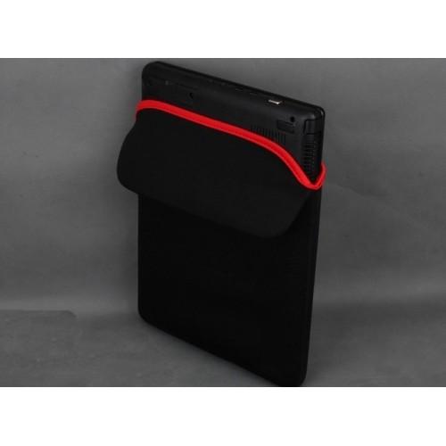 Ударостойкий водонепроницаемый эластичный неопреновый мешок (вспененный наполнитель) для планшетов с диагональю 7 дюймов Черный
