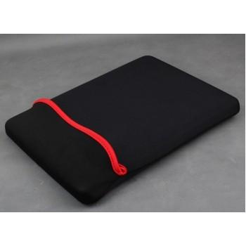 Ударостойкий водонепроницаемый эластичный неопреновый мешок (вспененный наполнитель) для планшетов с диагональю 8 дюймов Черный