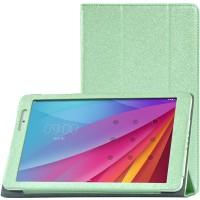 Сегментарный чехол книжка подставка с рамочной защитой экрана текстура Золото для Huawei MediaPad T2 10.0 Pro Зеленый