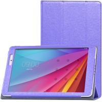 Сегментарный чехол книжка подставка с рамочной защитой экрана текстура Золото для Huawei MediaPad T2 10.0 Pro Фиолетовый