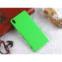 Пластиковый непрозрачный матовый чехол для Sony Xperia XA Зеленый
