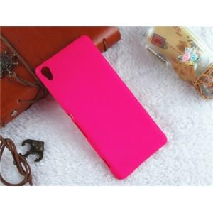 Пластиковый непрозрачный матовый чехол для Sony Xperia XA Пурпурный