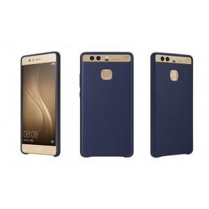 Оригинальный кожаный чехол накладка (премиум нат. кожа) для Huawei P9