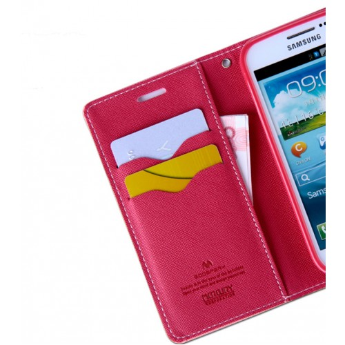 Дизайнерский текстурный чехол портмоне подставка на силиконовой основе с магнитной защелкой для Samsung Galaxy Win