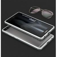 Металлический бампер сборного типа на винтах для Huawei P9 Белый