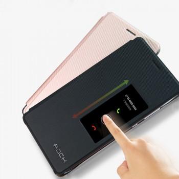 Чехол смартфлип на пластиковой основе с окном вызова для Huawei P9