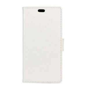 Чехол горизонтальная книжка подставка на силиконовой основе на магнитной защелке для ASUS ZenFone Go 4.5 ZB452KG Белый