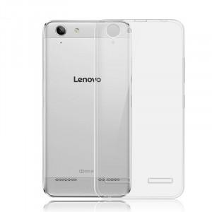 Силиконовый матовый транспарентный чехол для Lenovo Vibe K5