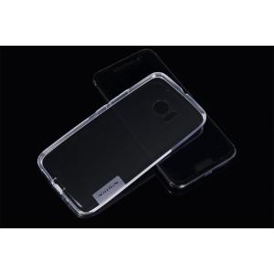 Силиконовый матовый полупрозрачный чехол повышенной защиты для HTC 10 Белый