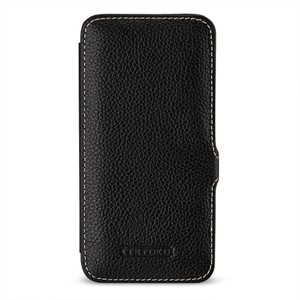 Кожаный чехол горизонтальная книжка (премиум нат. кожа) с крепежной застежкой для HTC 10