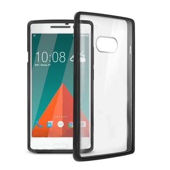 Двухкомпонентный полупрозрачный чехол силикон/поликарбонат с улучшенной защитой элементов корпуса для HTC 10