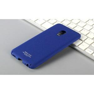 Пластиковый непрозрачный матовый чехол с повышенной шероховатостью для Meizu Pro 6