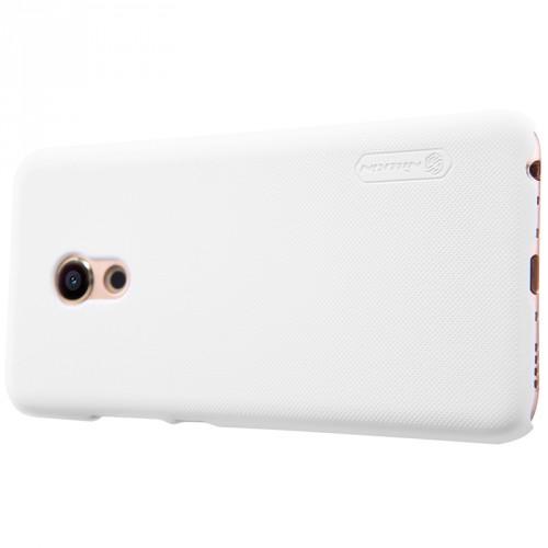 Пластиковый непрозрачный матовый нескользящий премиум чехол для Meizu Pro 6