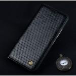 Кожаный чехол горизонтальная книжка (премиум нат. кожа) для Meizu Pro 6
