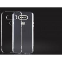 Силиконовый матовый транспарентный чехол для LG G5