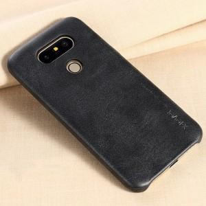 Чехол накладка текстурная отделка Кожа для LG G5