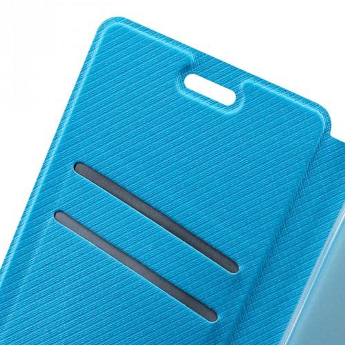Чехол горизонтальная книжка подставка текстура Клетка на силиконовой основе для Xiaomi RedMi 3 Pro/3S