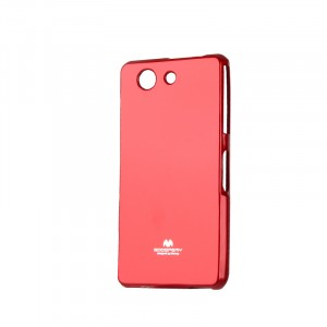 Силиконовый непрозрачный чехол для Sony Xperia Z3 Compact  Красный