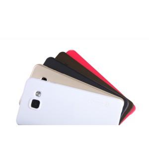 Пластиковый непрозрачный матовый нескользящий премиум чехол с повышенной шероховатостью для Samsung Galaxy A3 (2016)