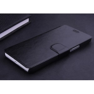 Чехол горизонтальная книжка подставка на пластиковой основе с отсеком для карт на магнитной защелке для Lenovo A536 Ideaphone