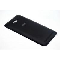 Пластиковый непрозрачный матовый встраиваемый чехол для ASUS ZenFone Max Черный
