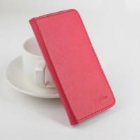 Чехол портмоне подставка на силиконовой основе на магнитной защелке для ASUS Zenfone Go 5.5/Go TV Красный