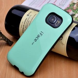 Противоударный двухкомпонентный силиконовый матовый непрозрачный эргономичный чехол с нескользящими гранями для Samsung Galaxy S7 Edge Зеленый