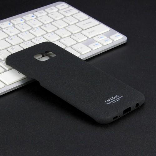Пластиковый непрозрачный матовый чехол с повышенной шероховатостью для Samsung Galaxy S7 Edge