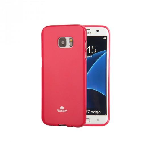 Силиконовый глянцевый непрозрачный чехол для Samsung Galaxy S7 Edge