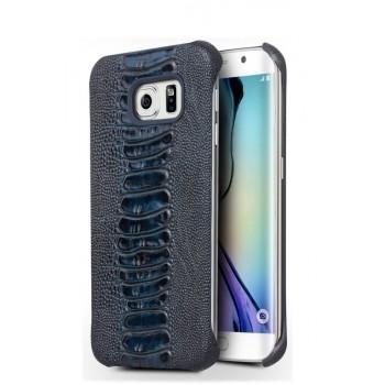 Чехол накладка текстурная отделка Кожа для Samsung Galaxy S7 Edge