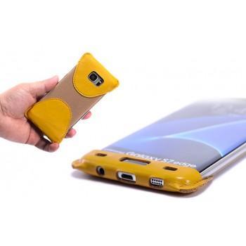Кожаный мешок каркас для Samsung Galaxy S7 Edge