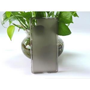 Силиконовый матовый полупрозрачный чехол для Sony Xperia X