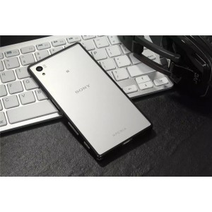 Металлический округлый бампер на пряжке для Sony Xperia X