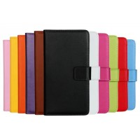 Чехол портмоне подставка на пластиковой основе на магнитной защелке для Sony Xperia X