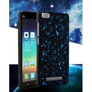 Пластиковый непрозрачный матовый чехол с голографическим принтом Звезды для Xiaomi Mi4i
