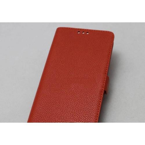 Кожаный чехол горизонтальная книжка подставка на силиконовой основе на магнитной защелке для Xiaomi Mi4i