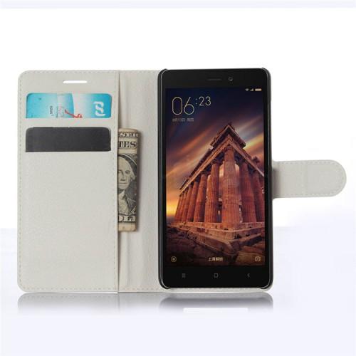 Чехол портмоне подставка на магнитной защелке для Xiaomi RedMi 3