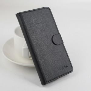Чехол портмоне подставка на клеевой основе на магнитной защелке для Homtom HT3