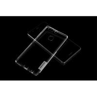 Силиконовый матовый полупрозрачный чехол с улучшенной защитой элементов корпуса (заглушки) для Huawei P9 Plus Белый