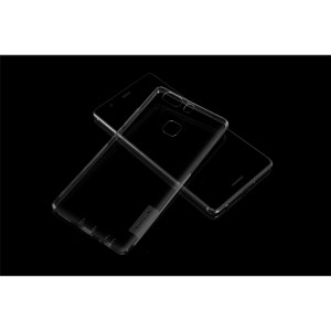 Силиконовый матовый полупрозрачный чехол с улучшенной защитой элементов корпуса (заглушки) для Huawei P9 Plus